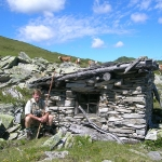 Gamsmuatterhütte für die Viehhirten