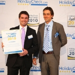 Peter Hettegger & Axel Jockwer - Holidaycheck Award 2010