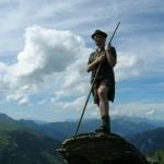 Bergstock in der Erzherzog Johann Stellung
