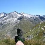 Blick in die Bergvielfalt des Nationalpark Hohe Tauern