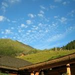 Frühabendliche Wolkenstimmung bei den Kreealmen