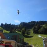 Sonntagsspaziergang der anderen Art zwischen der Talstation und dem Hotel Auhof