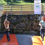 Slackline-Kinder-Parcour des Alpenvereins