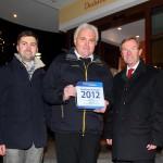v.l.n.r.: Georg Ziegler (HolidayCheck), Franz Zraunig (Obmann TVB Großarltal, Hotel Almrösl Hüttschlag), LH-Stv. Dr. Wilfired Haslauer