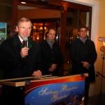 Landeshauptmann-Stv. Dr. Wilfried Haslauer überbringt die Grüße und Glückwünsche des Landes Salzburg