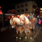 Pferdeschlittenfahrten beim Salzburger Bergadvent im Großarltal