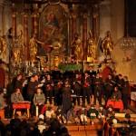 Adventsingen 10. 12. 2011 mit dem Männerchor Hüttschlag