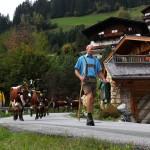 Ankunft im Ortsteil Unterberg - ein langer Weg liegt schon hinter ihnen