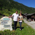 Martin Rohrmoser mit Jasmin beim Talmuseum