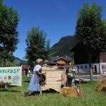 Bauernherbst-Deko Grossarl Ortseinfahrt Süd