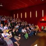 Präsentation im neuen Kino- & Theatersaal