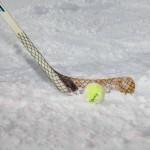 Auch Eishockey war für das Happy Power Lady Race notwendig
