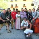 Die Grafen beim Bauernherbstfest in Hüttschlag