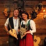 "Caroline Koller mit Rupert Kruezer (""Astei"")"