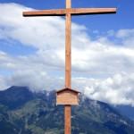 Neues Gipfelkreuz am Saukarkopf