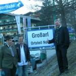 Großarler Bürgermeister mit den Bergbahnenvorständen vom Alpendorf