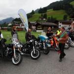 Segnung der Harleys und der Teilnehmer