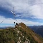 Die Höllwand, mit 2.287 m der höchste Punkt meiner heutigen Tour