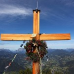 Tennköpfl, Weihe dieses Kreuzes war erst kürzlich am 9. 9. 2014