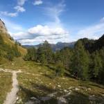 Abstieg zur Igltalalm