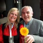 Unsere Freunde Martina und Hannes Riedlsperger vom Hotel Ritzenhof in Saalfelden waren auch unter den Preisträgern.