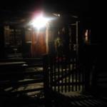 Hubalm - Hüttenromantik beginnt bereits am Eingang
