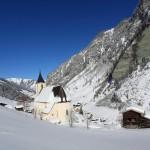 Die Kirche von Hüttschlag