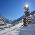 Der Salzburger Almenweg kommt von der Harbachalm herunter nach Hüttschlag