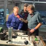 Sepp erklärt die Seilklemme