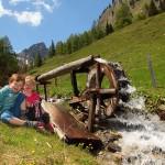 Wasserrad, Anziehungspunkt für große und kleine Besucher