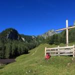 Igltalalm mit Wetterkreuz