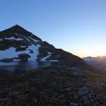 Sonnenaufgang am Oberen Schwarzhornsee