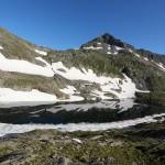 Unterer Schwarzhornsee mit Schwarzhorn