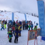 Übungsstationen für den Skisicherheitstag
