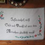 Wandschoner in der Maurachalm