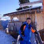 Fast täglich genießt Klemens Aichhorn die gigantische Aussicht vom Wildererplatzl aus