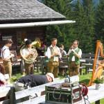 Die Salzburger Knittelbeisser auf der Hirschgrubenalm