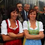 """Unsere beiden """"First Ladies"""" Kathi Gollegger und Renate Toferer"""