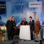 Interview-Runde mit Bürgermeistern und Vertretern der Energie-AG