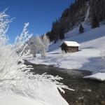 Winterromantik an der Großarler Ache