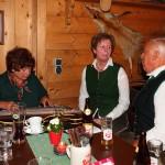 Alpendorf Zwoagsang mit Kaser Anni an der Zither