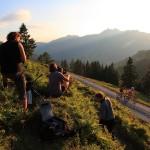 Foto- & Dreharbeiten vom Mountainbiken bei der Karseggalm