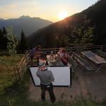 "Foto- & Dreharbeiten zu ""Jause Mountainbike"""