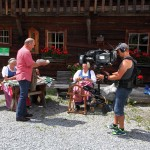 Kameramann Günther an der Steadycam bei der Moderation im Talmuseum