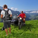 Stellprobe für die Begrüßungsszene mit Kameramann Günther und Produktionsleiter Axel