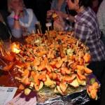 Süße Mitternachtsüberraschung bei der Welcome Party