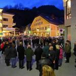 Vierte Station: An der Abzweigung vom Marktplatz zur Kirchgasse