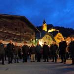 "Fünfte Station: Am Marktplatz vor der ""Dorfer Brücke"""