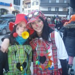Unser Waldhofclowns Susa und Alexandra
