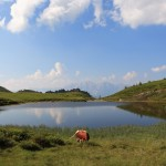 Oberer Paarsee mit Blick zum Hochkönig